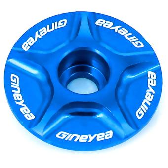 GoSport Bicycle Bike Aluminum Headset Top Cap Compatible 1 and 1-1/8 (Blue)- Intl