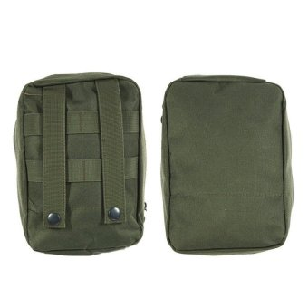 HAOFEI Molle Medical First Aid Sling Pouch(Green) - INTL