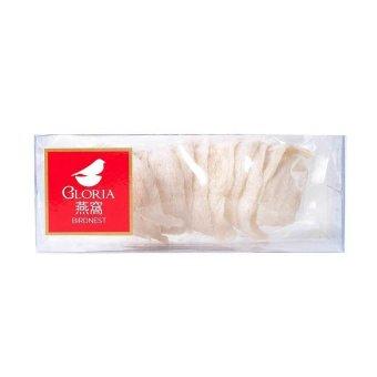 Gloria Bird Nest SM - Sarang Burung Walet 100g - Putih