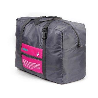 Spek Harga Generic WeekEight Korean Foldable Luggage Bag - Pink Terbaru - Cek Ulasan Kekurangan Kelemahan