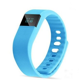 TW64 Smart Wristband Fitness Tracker for IOS/ Android (Blue) (Intl)
