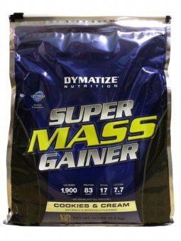 Dymatize - Super Mass Gainer Cookies New Packaging - 12 lbs