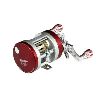 harga AL Alloy Bait Casting Reel BC101 Left-Handed Stainless Steel 10+1BB Red Fishing Reel with The Centrifugal Brake System Lazada.co.id