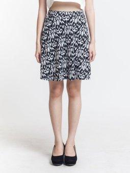 harga LocalBrandID Samsara Skirt Black Lazada.co.id