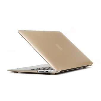 Protective Hard Laptop Cover Shell Case for Macbook Pro Retina 13 Inch (Golden) (Intl)