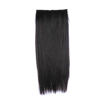 Cocotina Woman Girl Party Costume Synthetic Straight One Piece Hair Extensions 5 Clips 21.6
