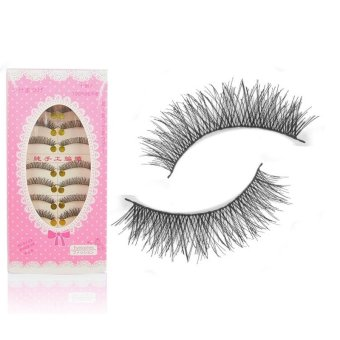 10 Pairs False Eyelashes Eye Lashes Extension 9#
