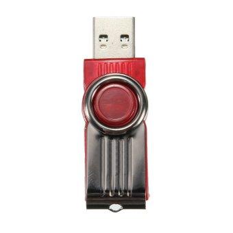 64GB USB3.0 Swivel Flash Memory Stick Pen Drive Storage Thumb U Disk Red (Intl)