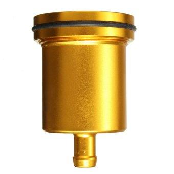 Universal Motorcycle Brake Clutch Master Cylinder Fluid Oil Reservoir Cup Gold (Intl)