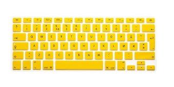 HRH Norwegian Silicone EU Keyboard Cover Skin for Apple Macbook Pro Retina 13
