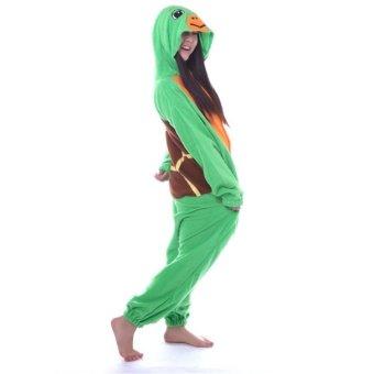 Twinklenorth AAC-52 Green Tortoise Turtle Adult Animal Costume Jumpsuit (Intl)