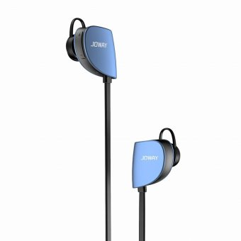JOWAY H-07 Pro Music Sport Bluetooth Earphone Wireless Bicycle in Ear Auriculares Bluetooth for Phone(Blue) (Intl)