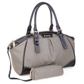 Waterproof Nylon Leather Handbag (Red)