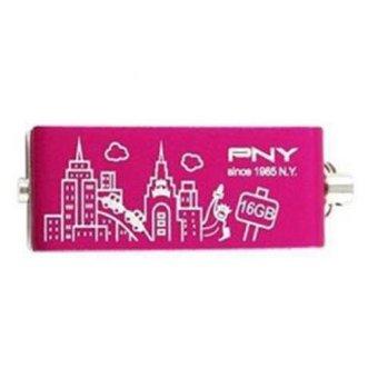 PNY Flash Disk City Series 2.0 - 16GB Pink