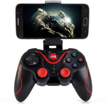 Wireless Bluetooth 3.0 Gamepad (Red) (Intl)
