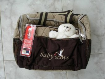 Baby Scots Embroidery Diaper