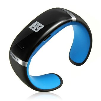 OLED Bluetooth Smart Wrist Watch Mate Bracelet Smartwatch For IOS Android Phone Blue (Intl)