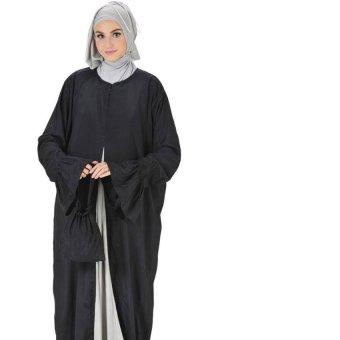 Belvanian Mukena Fashion Terbaru 223 - Black