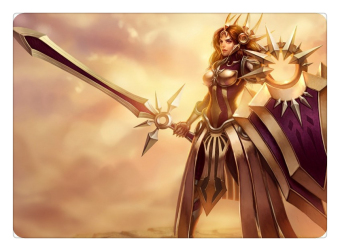 Radiant Dawn Leona Mouse Pad Lol Pad Mouse League Laptop Mousepad Best Seller Gaming Padmouse Gamer of Legends Keyboard Mats (Intl)