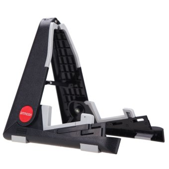 ammoon Foldable Stand Holder A-frame Bracket Mount for Ukelele Violin Mandolin Easy Universal Compact Space-saving Outdoorfree (Intl)