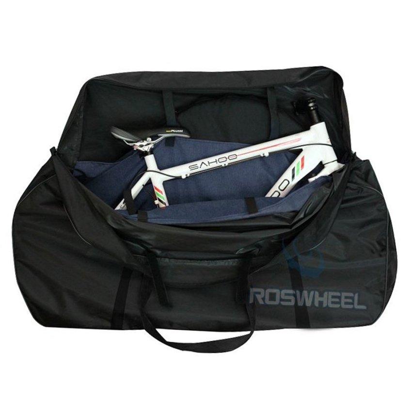 harga OH Folding Travel Mountain Road Whole Bike Bicycle Frame Bag Transport Carrier Black (Intl) Lazada.co.id