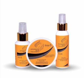 Angeline Hair Treatment Step 1, 3 dan 4