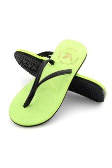 Flip Flops Women Sandal Slippers (Light Green) (Intl)