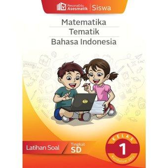 PesonaEdu Koleksi Soal Digital PesonaEdu Asesmatik Siswa Matematika Tematik & Bahasa Indonesia Kelas 1