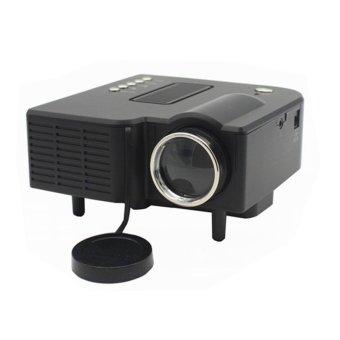 Mini Home Cinema Theater 1080P HD Multimedia USB LED Projector AV TV VGA HDMI JD UC28+ Color Black (EXPORT) - Intl