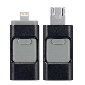 Multipurpose 64GB USB 2.0 Flash Memory Drive Stick Pen Thumb U Disk for iphone/Android (Black) (Intl)