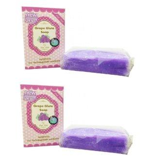 Wink White Gluta Grape Soap 2 pcs