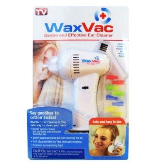 Wax Vac Vacum Pembersih Telinga - Putih