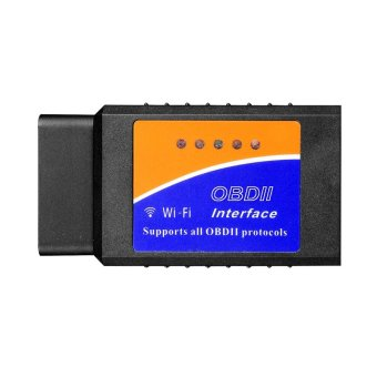 Car WIFI OBDII Scan Tool Scanner Adapter Check Engine Diagnostic Tool for iOS Apple iPhone 6 6 plus 5s 5c iPad Air Mini 4 3 iPod Touch & Andorid Samsung S5 S4 S3,Note 3 2 Google Nexus LG HTC One (Intl)