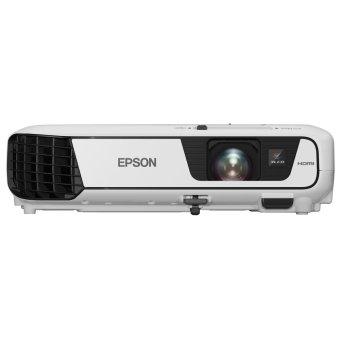 Epson EB-W04 3LCD Projector - 3000 ANSI - WXGA (1280x720) - 15.000:1 - Putih