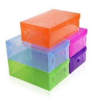 Sakura Sewing Box kotak 138pcs portable Alat Jahit Set Peralatan Benang Jarum Biru .
