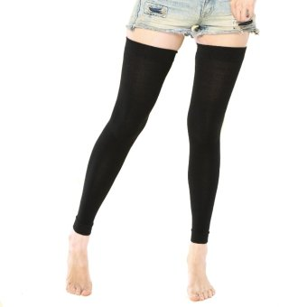 Unisex Medical Compression 18-22mmHg Travel Flight Socks Legging Sleeve XXL (Black) (Intl) (Intl)