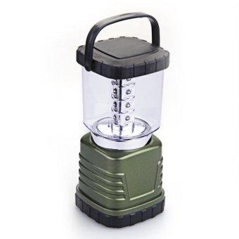 DHS Portable White 16 LED Camping Hiking Fishing Tent Lantern Light Lamp (Intl)