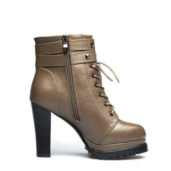 Women Fashion Anti Slide Heel Shoes - Intl