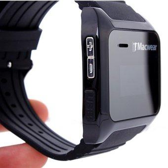 iMacwear i5 Bluetooth V3.0 + EDR Smart Watch for Andriod 4.0 Above (Intl)