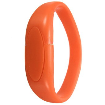 4GB USB 2.0 Flash Drive Memory Stick Thumb Pen U Disk (Orange) - Intl