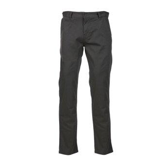 Hush Puppies Celana Panjang Chino Pria Bungalow Black Grey