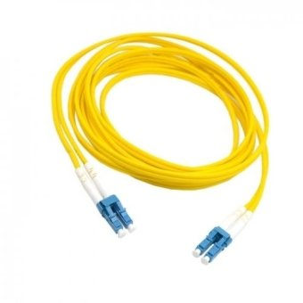 harga 10m Dual LC to LC Fiber Patch Cord Jumper Cable SM Duplex Single Mode Optic for Network (Intl) Lazada.co.id