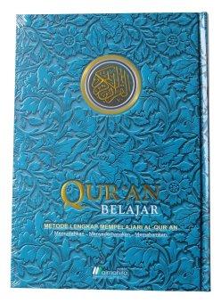 Almahira - Quran Belajar - Cover Batik (Biru)