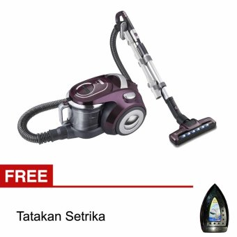 Maspion Vacuum Cleaner VCM 005 - Ungu + Gratis Tatakan Setrika