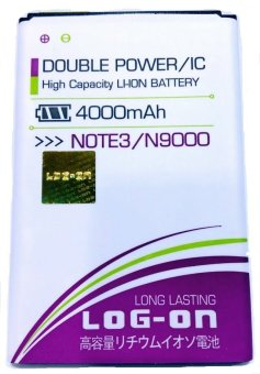 Log On Battery For Samsung Note 3/N9000 terpercaya