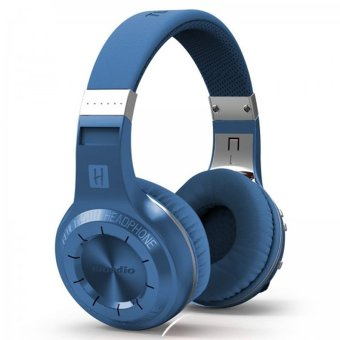Bluedio H-Turbiine 4.1 Over-head Wireless with Build-in Mic Reatal Package (Blue) (Intl)