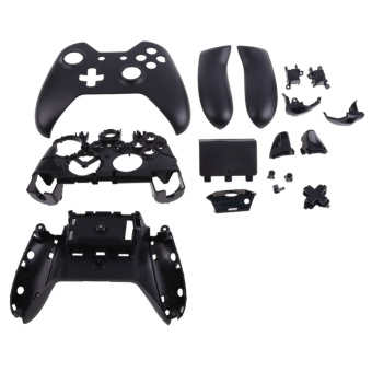 New Black Full Housing Shell Case Parts for Xbox One Wireless Controller (Intl)