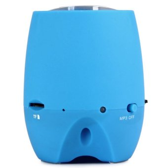 Y18 Portable Wireless Bluetooth 3.0 + EDR Super Bass Speaker (Blue) (Intl)