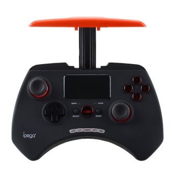 IPEGA PG-9028 Wireless Bluetooth Unique Controller Gamepad w/ Touchpad Support Android/ios/Android TV Box/Tablet PC - Black + Red (Intl)