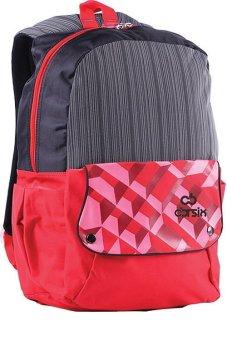 CBR Six ARC 912 Tas Ransel Sekolah/ Kuliah Wanita - Bagus - Dolby - Merah Kombinasi